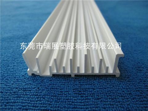 白色PVC冷顶异型材