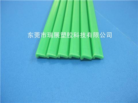 PA6绿色异型胶条,L型尼龙胶条