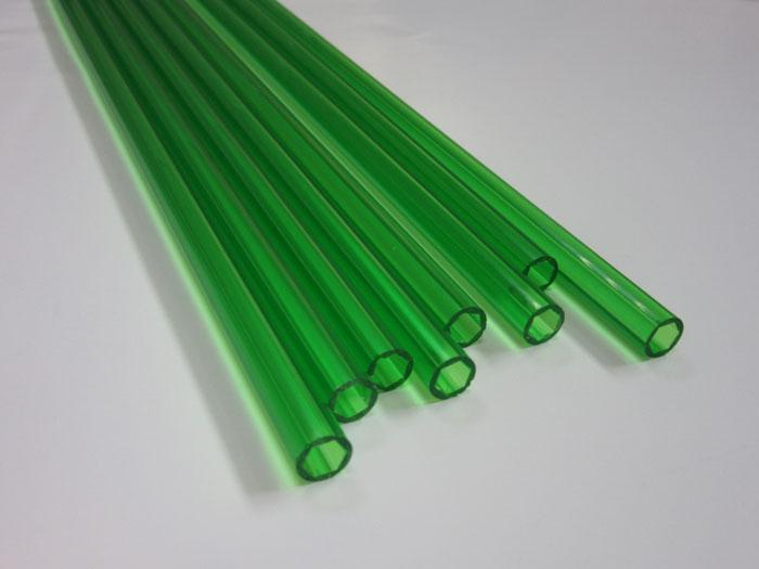 透明绿PVC管